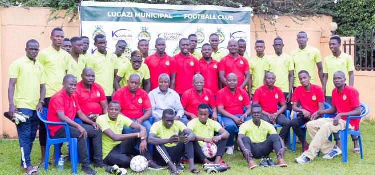 Lugazi Municipal FC unveils team squad