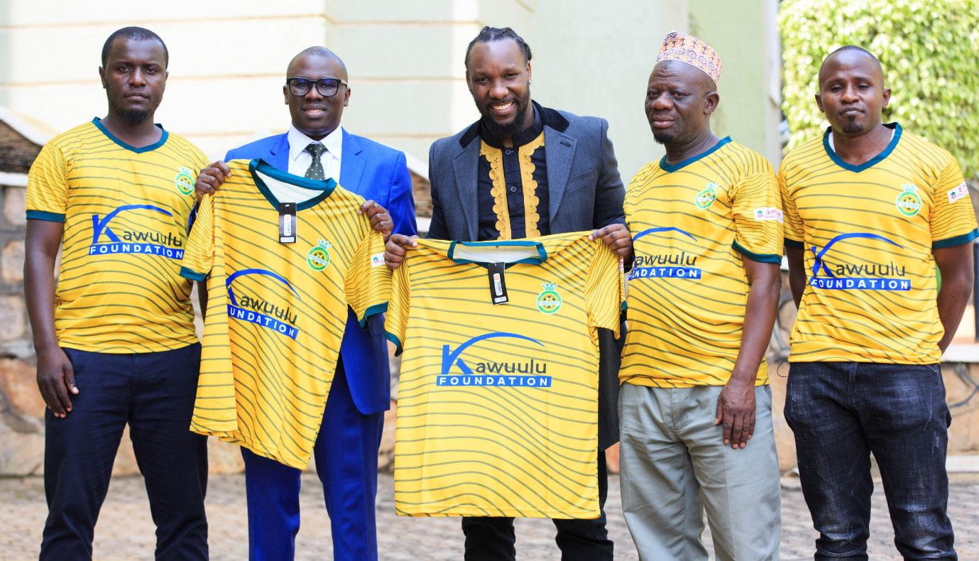 Ganda Boys become the first Lugazi Municipal FC ambassadors