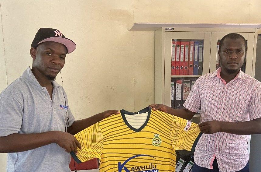 LUGAZI FC MEETS WITH DAVID WALUSIMBI, A LOCAL SOCCER LOVING PERSONALITY AND JERSEYS' COLLECTOR